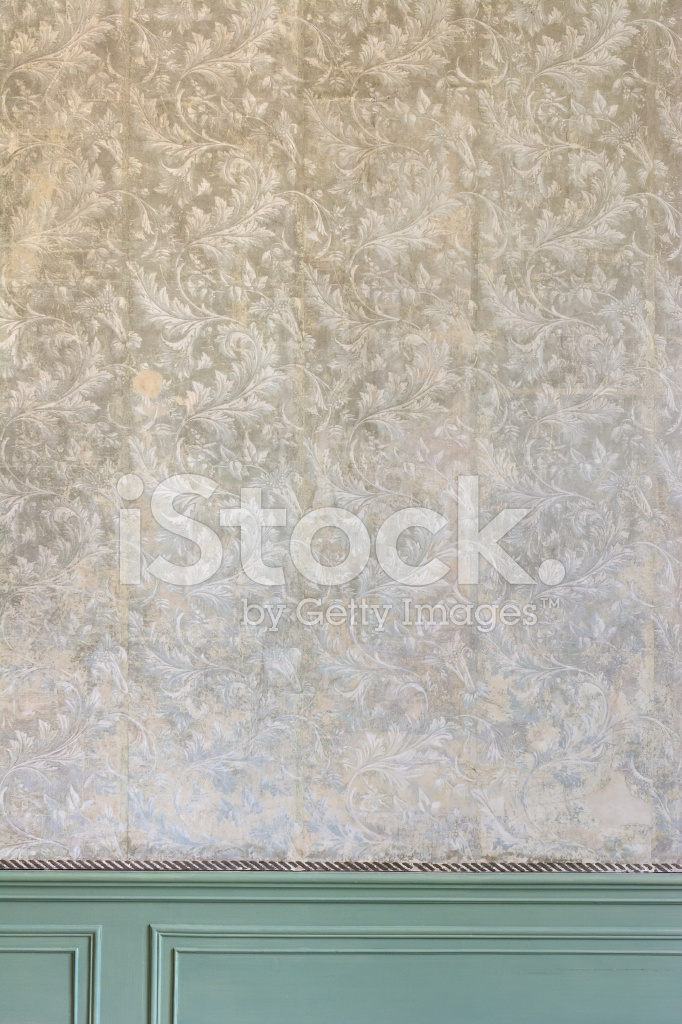 18 - Wallpaper imitatie lambrisering ...