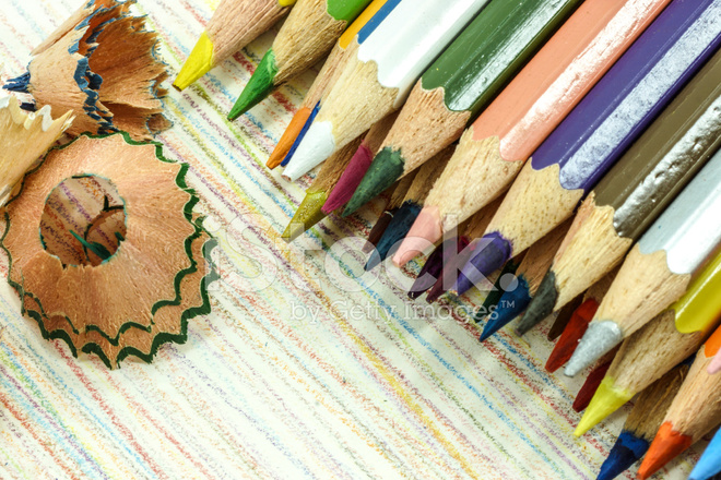 Pencils With Color Shaving Stock Photos - FreeImages com