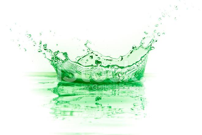 Green Liquid Splash Stock Photos Freeimages Com