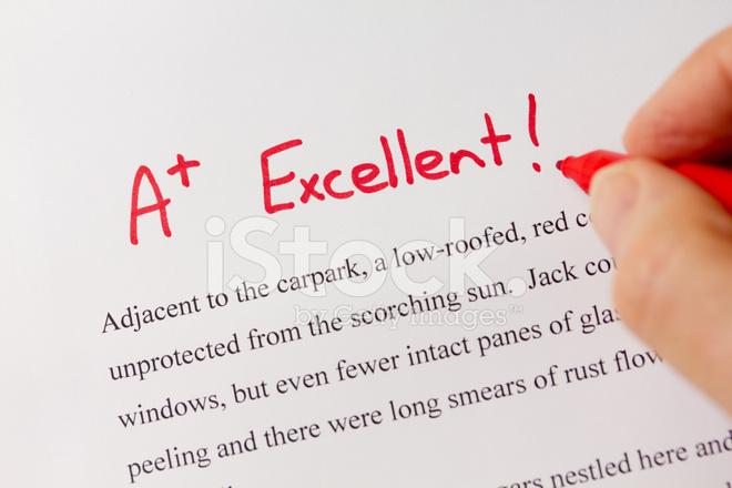 hand written essay