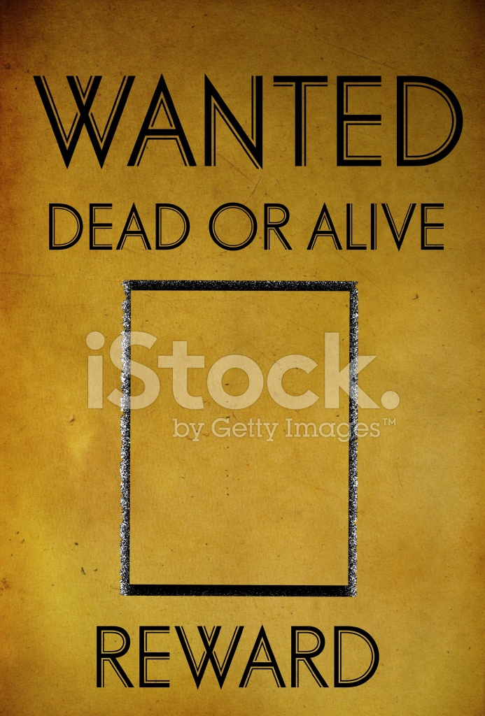 Vintage Wanted Poster Template  Free Wanted Poster Template