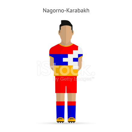 Berg Karabach Football Fussball Stock Vector Freeimages Com
