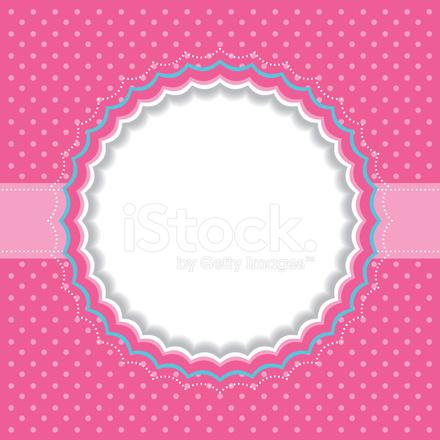 Polka Dot Frame Stock Vector - FreeImages.com