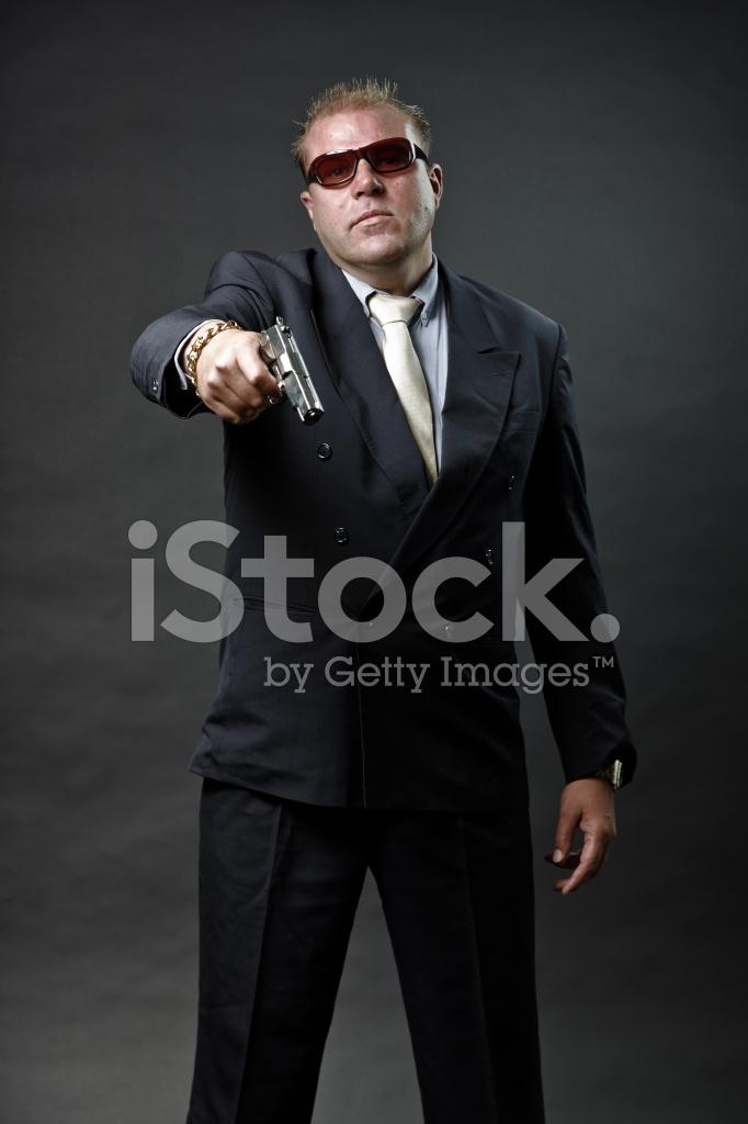 De Avec Lunettes Tenant Gangster Un En Homme Soleil Costume Mafieux deQBCWxro