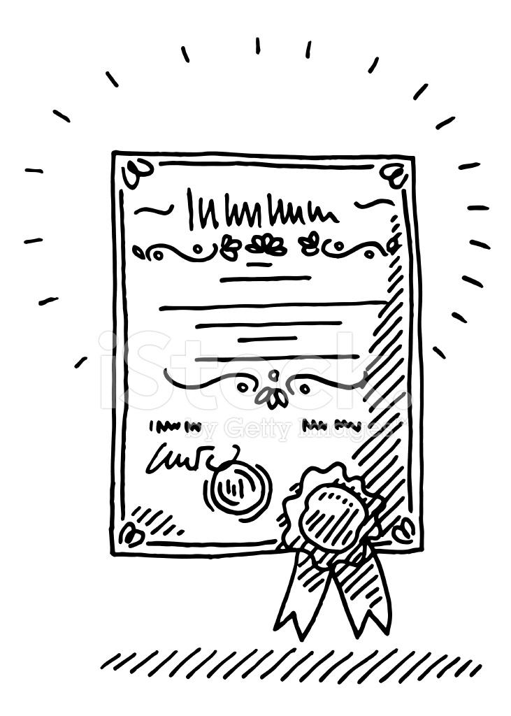 сертификаты картинка карандашом слова, заимствованные