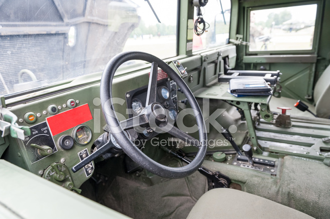military vehicle interior stock photos. Black Bedroom Furniture Sets. Home Design Ideas