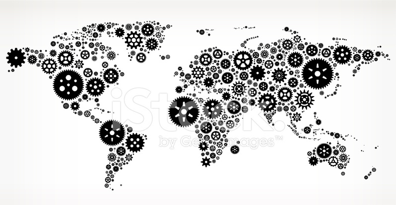 World map on black royalty free vector gears stock vector premium stock photo of world map on black royalty free vector gears gumiabroncs Image collections