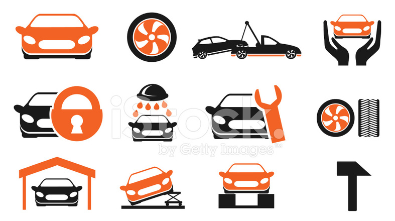 Outstanding Car Services Icon Set Stock Vector Freeimages Com Download Free Architecture Designs Scobabritishbridgeorg