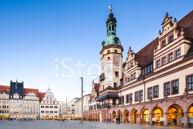 Leipzig Old Town Hall Stock Photos Freeimages Com