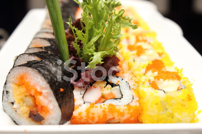 cuisine japonaise sushi roll photos. Black Bedroom Furniture Sets. Home Design Ideas