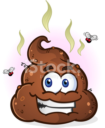 Pile of poop cartoon character stock photos freeimages com