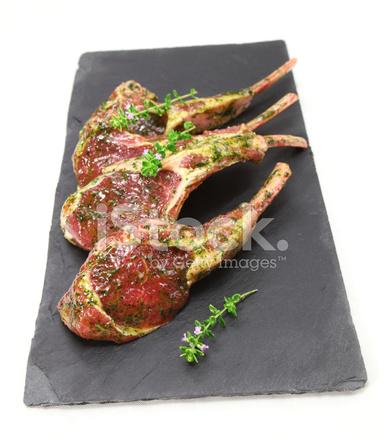 Marinated Lamb Chops stock photos - FreeImages.com