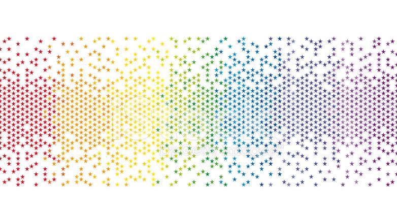 从iStock by Getty Images下载: cn.freeimages.com/premium/colourful-rainbow-pixel-star-background...