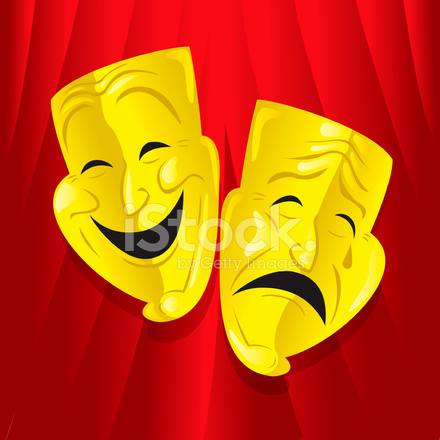 Theater Masken Stock Vector Freeimages Com