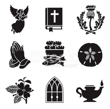 Christelijke Symbolen 01 Stock Vector Freeimages