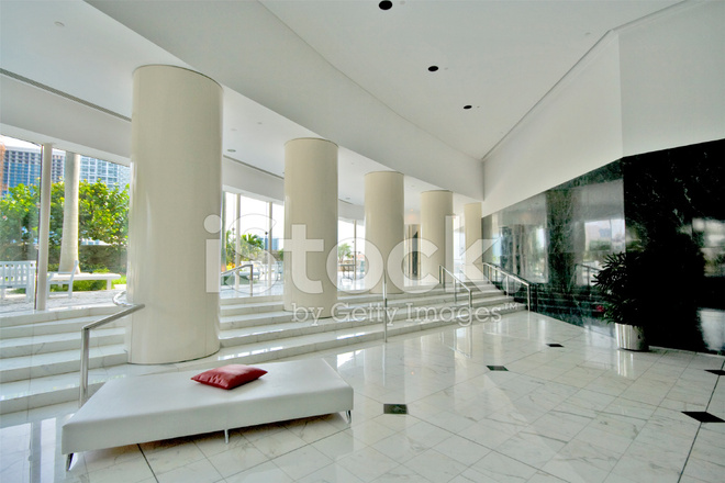 Foto Ufficio Moderno : Ufficio moderno lobby a miami fotografie stock freeimages.com