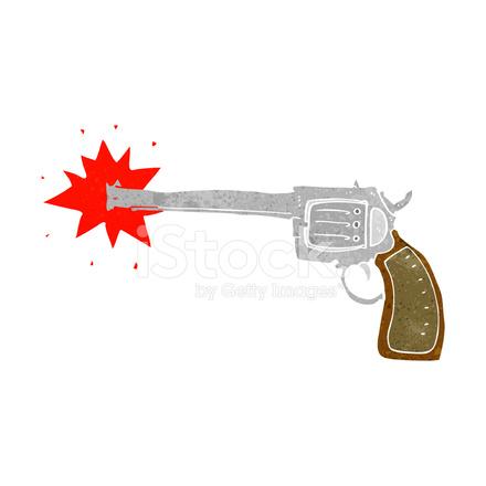 Arma De Fogo Dos Desenhos Animados Stock Vector Freeimages Com