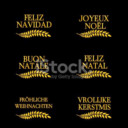 Frohe Weihnachten In Vielen Sprachen.Frohe Weihnachten Lorbeeren In Verschiedenen Sprachen 4