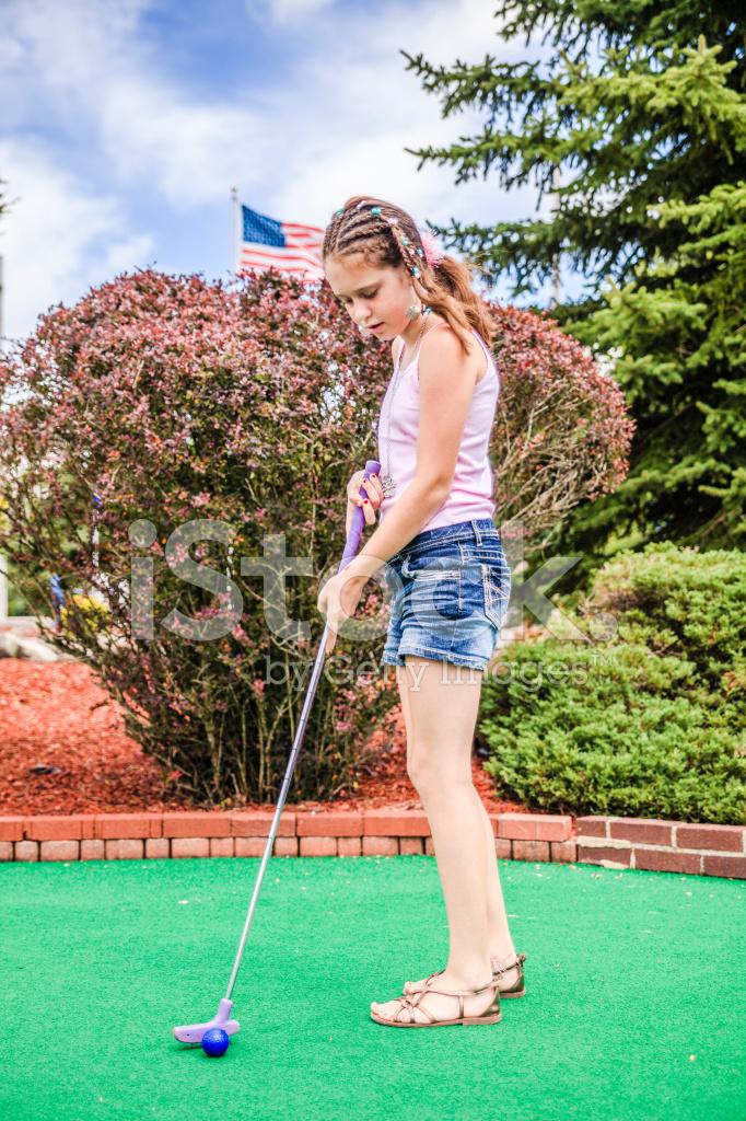 Fun teen games mini golf