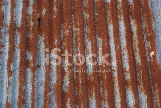 Alte Textur Und Rostige Zink Zaun Stockfotos Freeimages Com