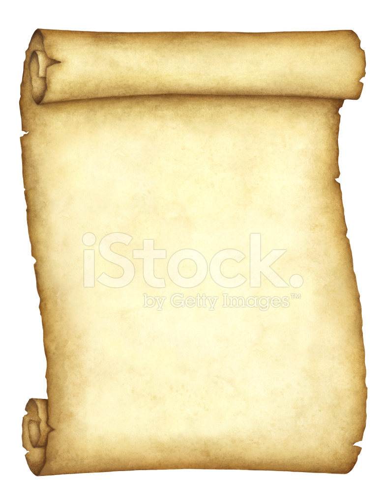 Blank antique scroll stock photos for Scroll outline template
