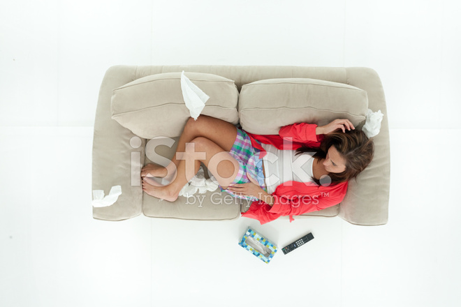 Above View Of Woman Lying On Couch Stock Photos Freeimages Com