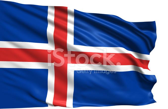 vlag van ijsland stockfoto's - freeimages