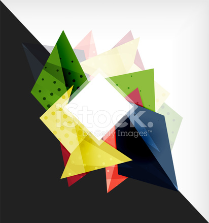 Abstract Composition 3d Geometric Shapes Stock Vector - FreeImages com