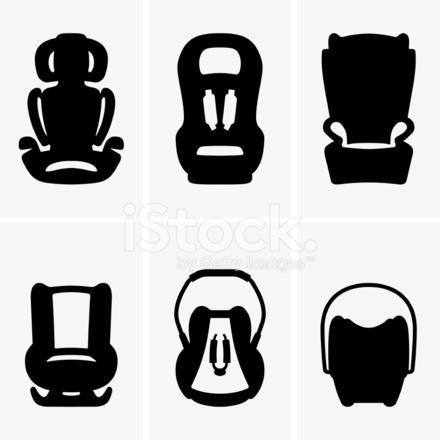 Baby Car Seat Cartoon