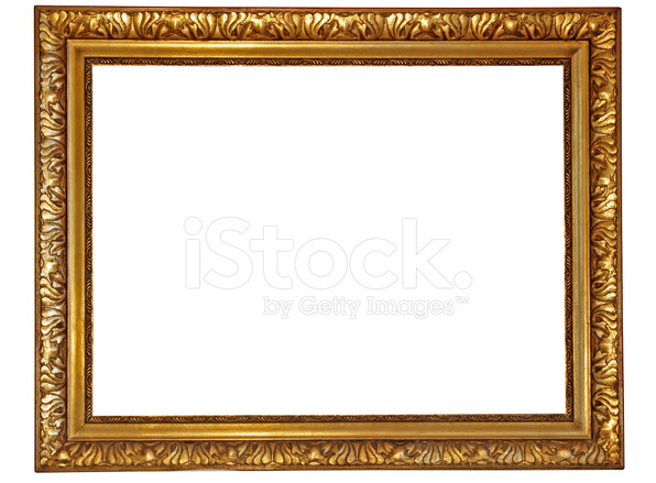 Gold Plated Wooden Picture Frame,please See MY Other Frames Stock ...