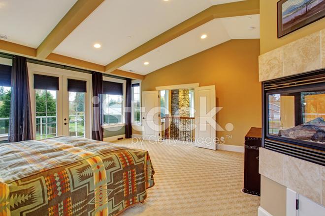 master slaapkamer interieur in luxe woning