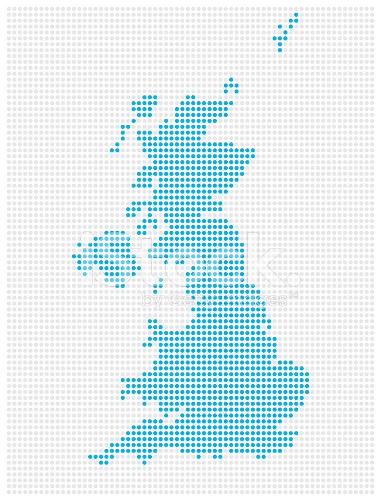 Großbritannien Karte Umriss.Karte Von Großbritannien Stock Vector Freeimages Com