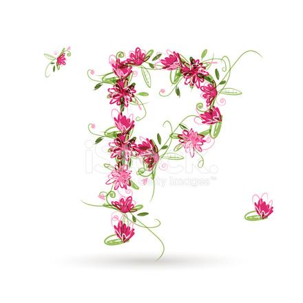 Floreale lettera p per il vostro disegno stock vector freeimages floreale lettera p per il vostro disegno altavistaventures Gallery