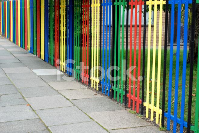 Kindergarten Fence Stock Photos Freeimages Com
