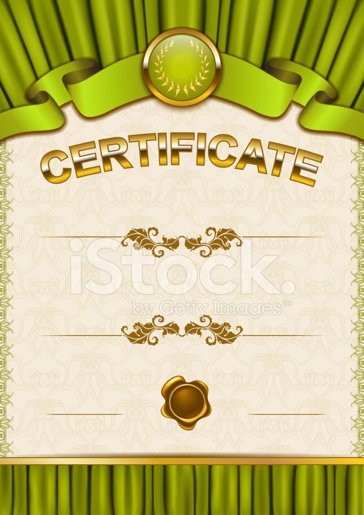 Elegante Plantilla De Certificado Diploma Fotograf 237 As De