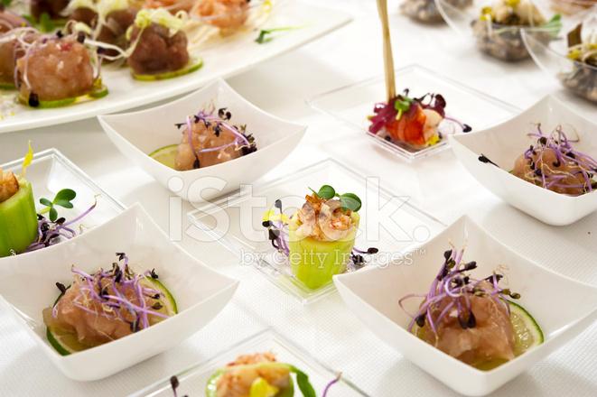 elegant appetizers finger foods stock photos freeimages com