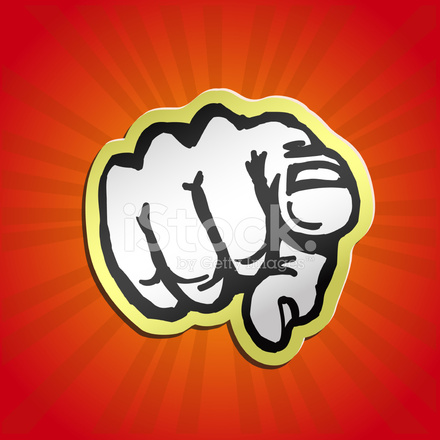 I Want You Pointing Finger Retro Vector Illustration Stock Vector Freeimages Com