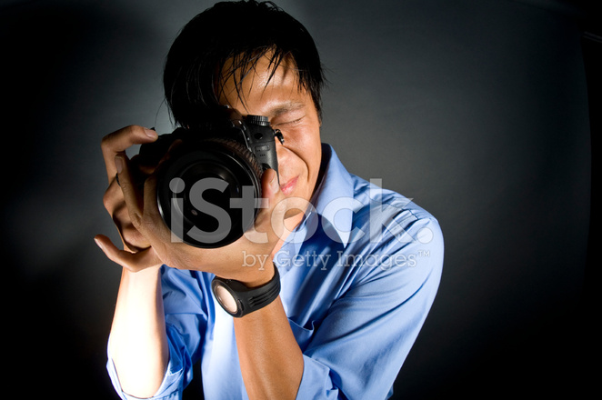 Male Asian Photographer Photoshoot With Pro Digital Camera Stock Photos Freeimages Com
