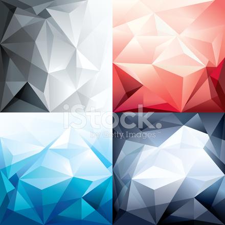 Fond Forme Polygone Tendance Abstraite Pour La Mise En Page Design