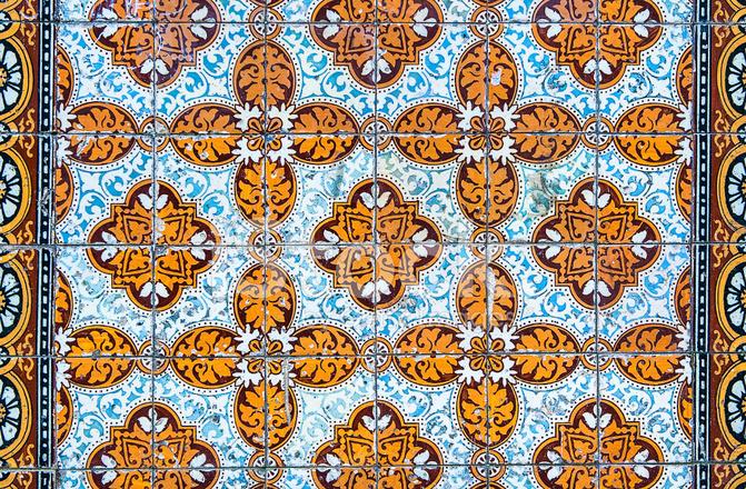 Premium Stock Photo Of Vintage Azulejos, Piastrelle Portoghesi Tradizionali