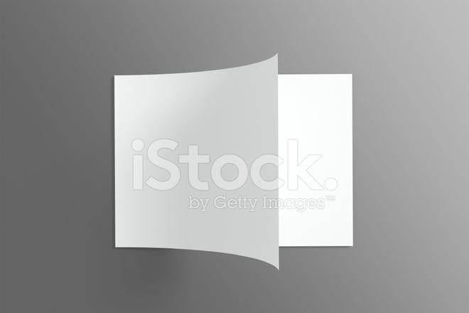 Blank Katalog / Broschüre Auf Dunklem Hintergrund Stockfotos ...