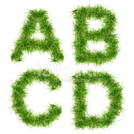 how to adress a letter letters of green grass collection stock photos 4413