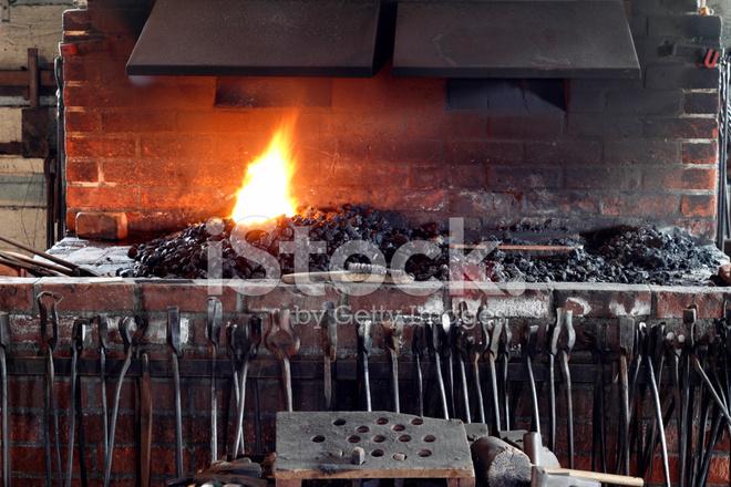 铁匠炉和工具