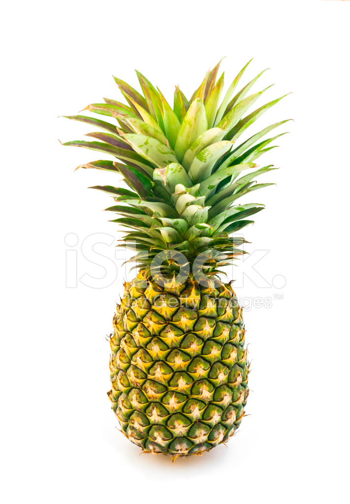 Perfect Pineapple Isolated Stock Photos Freeimages Com
