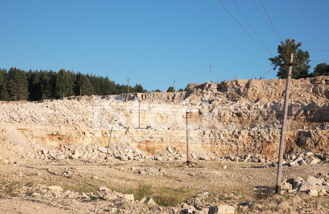 Limestone Quarry Stock Photos - FreeImages com