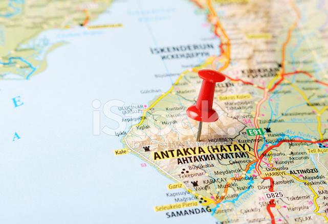 44680202 antakya hatay turkey map