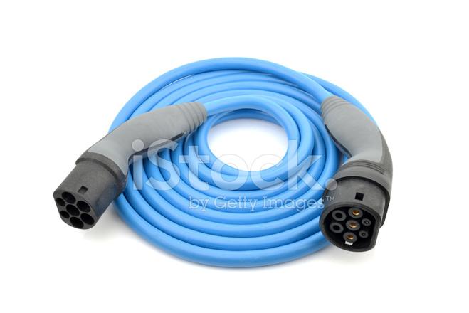 Elektrische Auto Opladen Kabel Stockfoto\'s - FreeImages.com