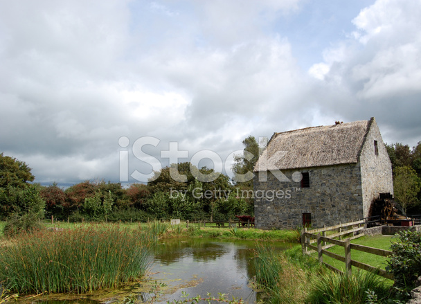 Ireland Stone Building : Old irish stone house stock photos freeimages