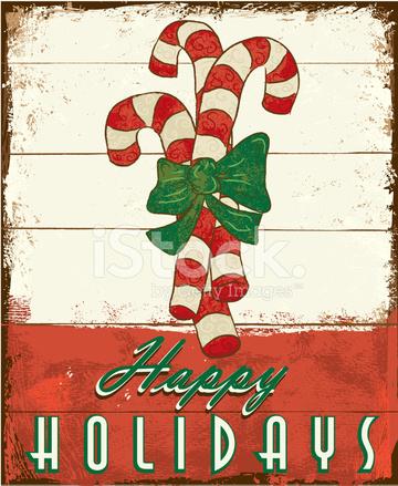 Feliz Navidad Vintage Cartel De Madera Pintado De Diseno Stock - Vintage-navidad
