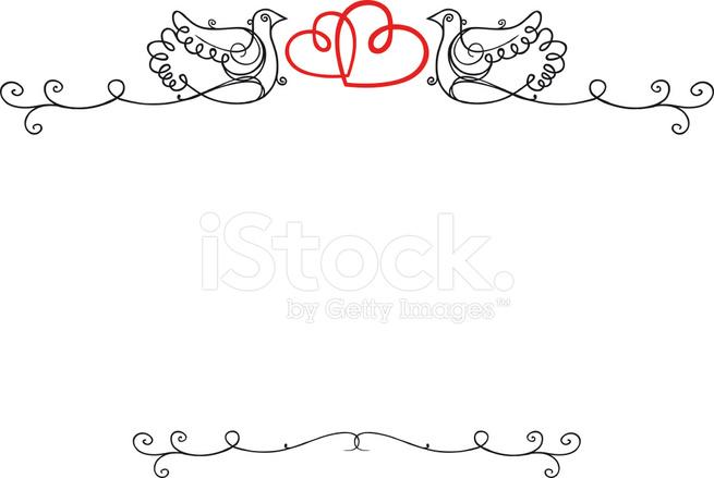Wedding Vintage Frame Stock Vector - FreeImages.com